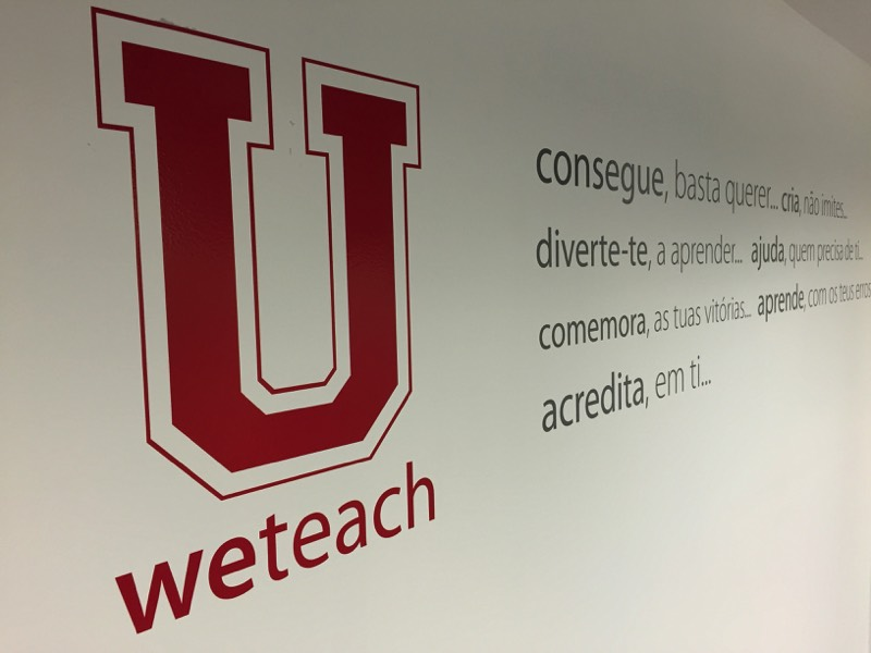 Weteach - Centros de Estudos - Instalações - Águas Santas