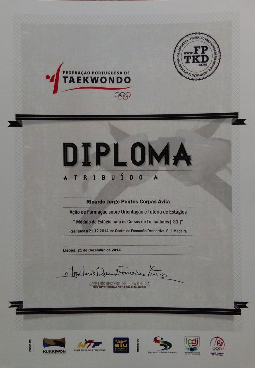 Weteach - Centros de Estudos - Diplomas Taekwondo