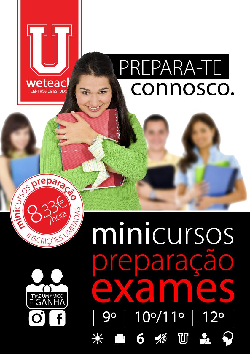 Weteach - Centros de Estudos | Preparação Exames Nacionais | MiniCursos